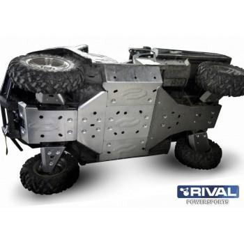 Защита днища для UTV ARCTIC CAT Prowler 700 HDX 2011- Rival 444.7305.1