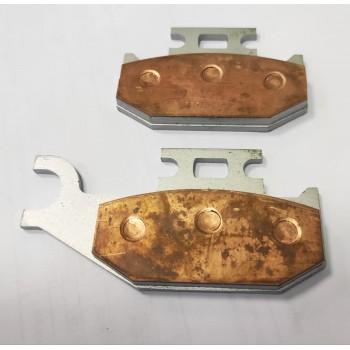 Медные тормозные колодки передние правые Can-Am G1 Outlander /Renegade 705600349 /705600004 /Yamaha Raptor 700 1S3-W0046-01-00 /FA317R /767SI /FA317M