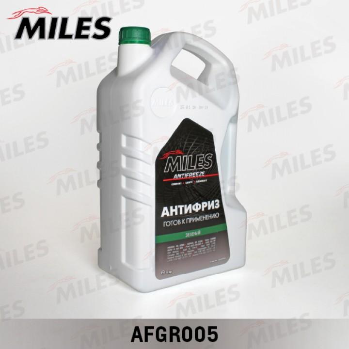 Антифриз зеленый 5л Miles AFGR005