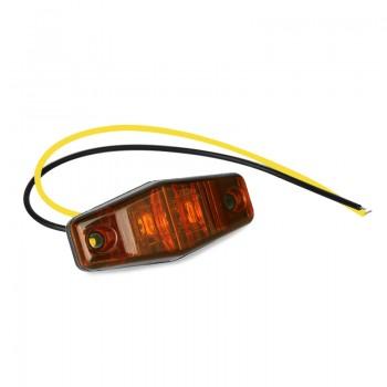 Светодиодные поворотники 2шт желтые 5W 66мм*28мм 12V/24V 500Lm FL097CA