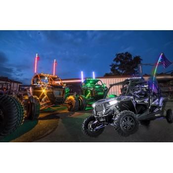 Спиральные флагштоки 150см светодиодные для UTV /квадроцикла Rider Lab ZS819O5