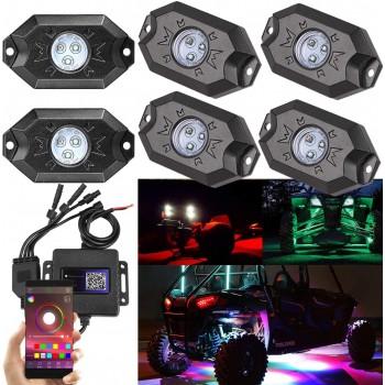 Светодиодная RGB подсветка днища /кузова UTV /квадроцикла /внедорожника /катера Led Rock Light ZS10086