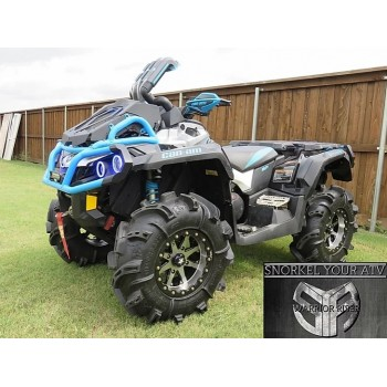 Комплект шноркелей Can-Am XMR G2 Outlander 12+ SnorkelyourATV Warrior Riser Outlander XMR 12-18SK