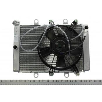 Оригинальный комплект радиатора с вентилятором Yamaha Grizzly 700/550 /Kodiak 700 07+ B16-E2460-00-00 /B16-E2405-00-00 /3B4-1240A-10-00 /3B4-1240A-00-00 /28P-1240A-00-00 /1HP-E2460-00-00 /3B4-12405-00-00 /28P-12405-00-00 /3B4-12405-01-00