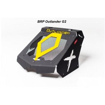 Вынос радиатора желтый камертон Can-Am G2 Outlander 1000/850/800/650/570/500 12+ LITpro LITpro-G2Y