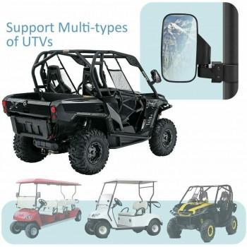"""Зеркала для UTV прямоугольные для трубы 1,75""""-2"""" Can-Am /Polaris /Yamaha /CF /Honda 98315 /RM98"""