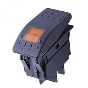 Кнопка универсальная с оранжевым индикатор CXCP183B