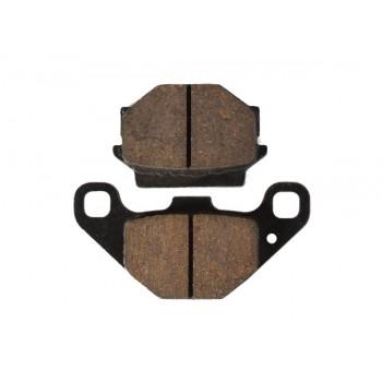 Тормозные колодки задние для Yamaha Grizzly 300 1SC-F5806-00-00 /Dinli F140239-00 MCB523 /FA067
