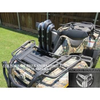 Комплект шноркелей квадроцикла Can-Am G1 Outlander 06-12 SYA Warrior Riser Snorkel kit WR0024
