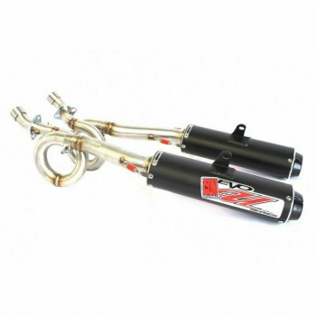 Big Gun Exhaust Evo U двойной полная система 2011-16 CAN-AM Commander 800/1000 12-6923