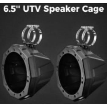 "Корпус музыкальных колонок SSV WORKS 8"" для UTV Can-Am Maverick /Commander /Traxter /Polaris RZR /ATV /UTV /Yamaha Wolverine /Viking /Rhino B0104-00301BK"