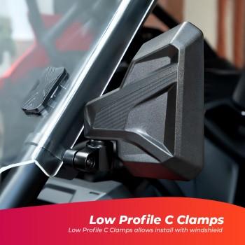 Комплект боковых зеркал для UTV Can-Am /Polaris /Arctic Cat /Honda /Kawasaki /Stels /CF Kemimoto B0106-03501BK