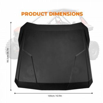 Крыша пластиковая для Polaris RZR PRO XP 2883928 Kemimoto B0112-01401BK
