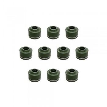 Сальники клапана 10шт Yamaha YFZ 450 R 33M-12119-00-00 /3P6-12129-00-00 /Suzuki 09289-05011 /Honda 12209-GB4-681 SPI AT-09018