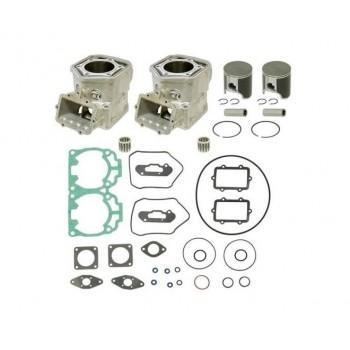Комплект блока цилиндров с поршнями и прокладками STD Ski-Doo 600 HO SDI 420613944, 421000624, 420613940 SPI SM-09603K /541-90303K