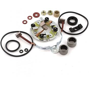 Ремкомплект электростартера с щётками для Arctic Cat /Kawasaki /Honda /Polaris /Yamaha /Sea-Doo SMU9125 Caltric RK101