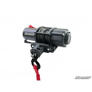 Лебедка для квадроцикла и UTV на кевларовом тросу BLACK OPS 4500lb SUPERATV WN-4500