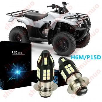 Комплект диодных лампочек Honda TRX, Yamaha Grizzly, Rhino 4KB-84314-01-00 / 4KB-84314-00-00 / H6M LED BA20D