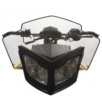 Ветровое стекло оригинальное 35,6 см BRP/SkiDoo REV XP легкая тонировка 860200439