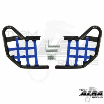 Подножки с сетками черные /синий Yamaha YZF 450R /450X 2009+ инжекторная модель Alba Racing 251-T1-BLUE-BLACK