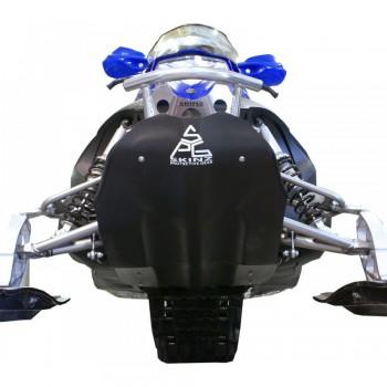 Защита днища снегохода Yamaha Nytro 2008-2014 Skinz YFP650-BK