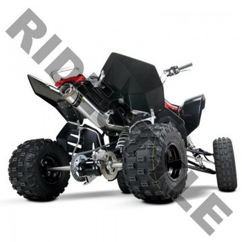 Глушитель квадроцикла, алюминий Suzuki LT-R450 QuadRacer M-7 V.A.L.E.™ Slip-on System Two Brothers 0
