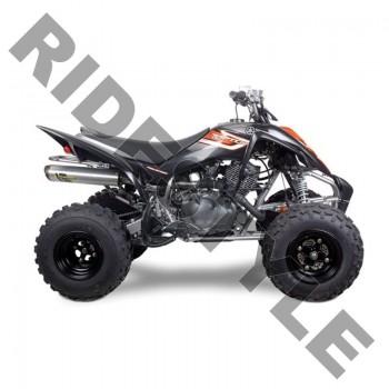 Глушитель квадроцикла, алюминий Yamaha Raptor 350 M-7 V.A.L.E.™ Stainless/Aluminum Slip-on System Tw
