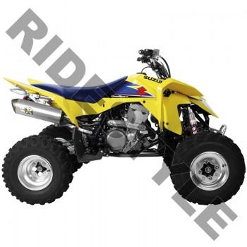 Глушитель квадроцикла, алюминий Suzuki Z400 QuadSport M-7 V.A.L.E.™ Slip-on System Two Brothers 005-