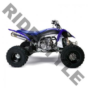 Глушитель квадроцикла, алюминий Yamaha YFZ450R/X M-7 V.A.L.E.™ Stainless/Aluminum Slip-on System Two