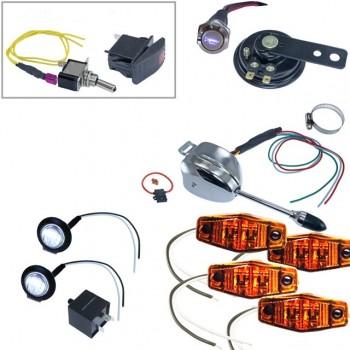 Комплект поворотников для квадроцикла/UTV/SxS Arctic Cat/BRP/CanAm/Honda/Kawasaki TSK142-98