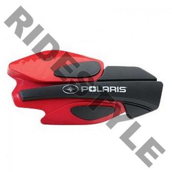 Защита рук квадроцикла/снегохода в сборе (крепеж+пластиковые щитки), оригинальная Polaris IQ/ Dragon 2876845 + 2879380