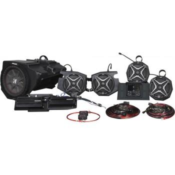 Премиальная акустическая аудио система с камерой заднего вида Can-Am Maverick X3 SSV WORKS X32-5A1 /