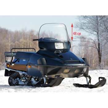 Ветровое стекло снегохода оригинальное Yamaha Viking 540 /VK540 88+ 86V-77210-10-00/86V-77210-10-XX