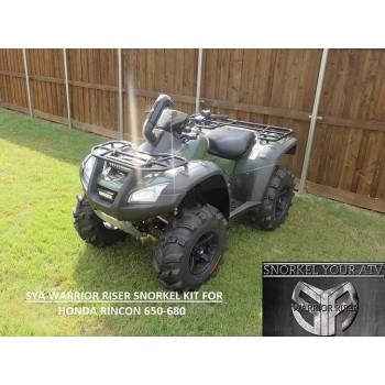 Комплект шноркеля Honda TRX 680 /TRX 650 Rincon 2001+ Snorkel Your ATV WR0041