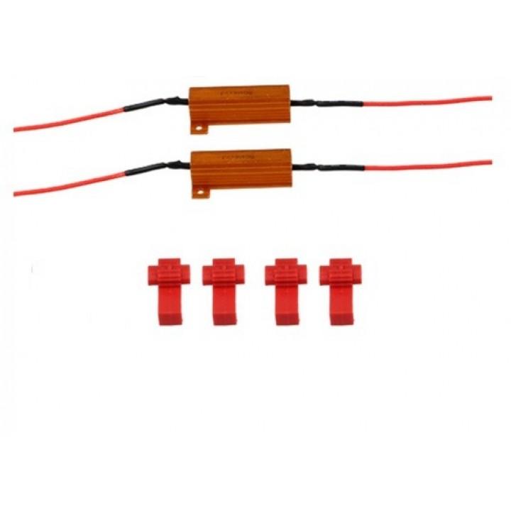 Резистор для диодных поворотников 50Вт 6 Ом TSK 50W6J
