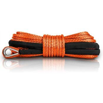 Трос для лебедки квадроцикла и UTV синтетический кевлар оранжевый 5.5X15 м RiderLAB 5.5X15DNGDO
