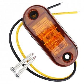Светодиодные поворотники 2шт 5W 66мм*28мм 12V/24V 500Lm FL099CA