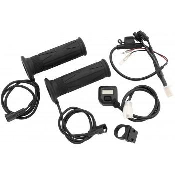 Комплект подогрева ручек и курка, сенсорная регулировка 22mm x 130mm Koso AM10713H /AM10712H /HG13 Heated Grip