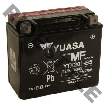 Аккумулятор Yuasa YTX20L-BS 410301203, 515175642, 4011496, 4SH-82100-22-00, BTY-YTX20-LB-S0, YTX-20LBS-00-00, 515175560, 296000295
