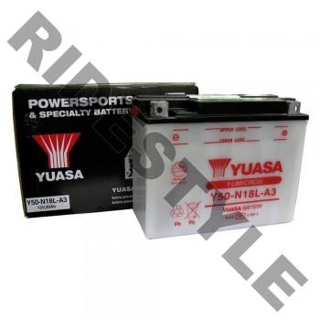 Аккумулятор для Arctic Cat 0436-183 /0645-170 /0645-432 /0645-804 /0745-047 /0745-059 /0745-230 /0745-423 /BRP 410301201 /410922962 /Polaris 4140005 /Yamaha Y50-N18LA-00-00 Yuasa Y50-N18L-A3