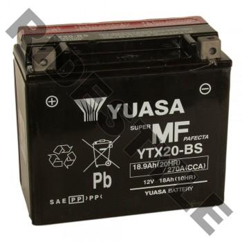 Аккумулятор Yuasa YTX20-BS (20H-BS)