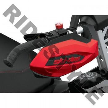 Защита рук снегохода на руль красная/черная BRP /Ski-Doo 860200709 /860200471