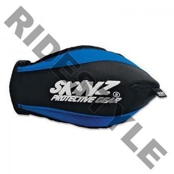 Защита рук снегохода на руль, мягкая Skinz HGP100-BK-BL