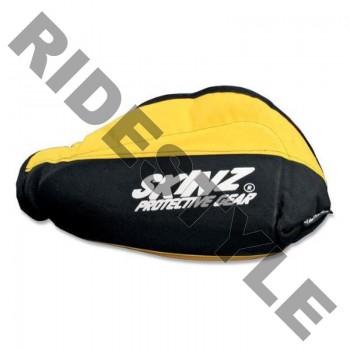 Защита рук снегохода на руль, мягкая Skinz HGP100-BK-YLW