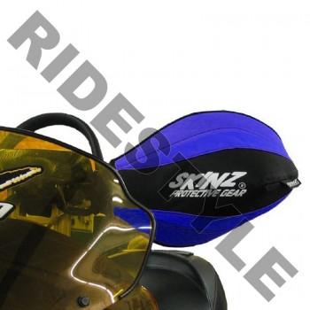 Защита рук снегохода на руль, мягкая Skinz HGT100-BK-BL