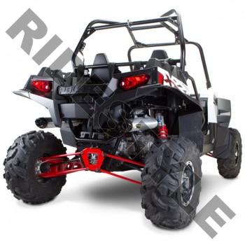 Полная двойная выхлопная система квадроцикла Polaris RZR900 M-7 Dual V.A.L.E.™ Complete Race System