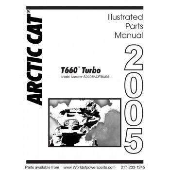 Наклейка снегохода Arctic Cat 660 6611-643