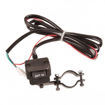 Пульт лебедки на руль Tusk Winch Replacement Rocker Switch 1386640001 /EJWA-10