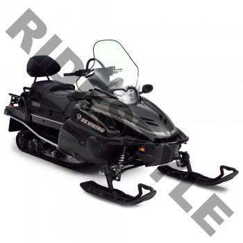 Ветровое стекло снегохода Yamaha Viking Professional /VK Pro 06-15 62см 2мм SMA8FN9650CL /SMA-8FN96-50-CL