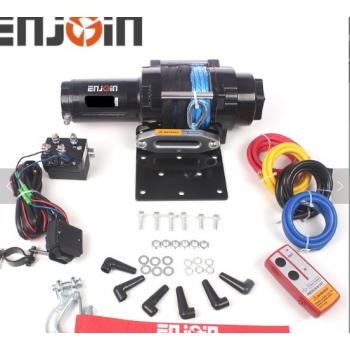 Лебедка для багги с синтетическим тросом и пультом дистанционного управления 4500LBS 2040кг ENJOIN EJS-TX4500